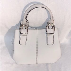 Small White Shoulder Bag